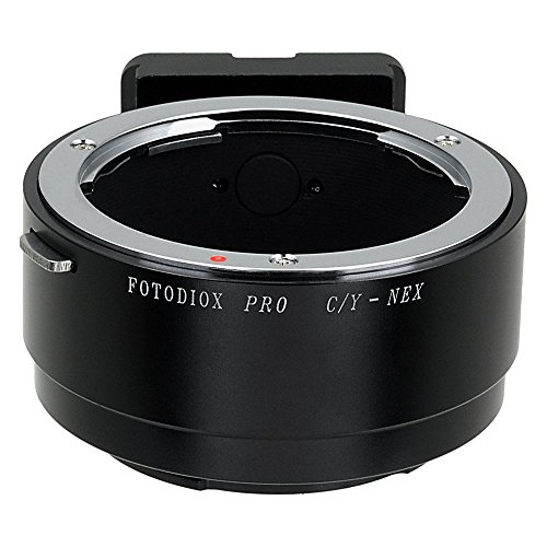 Fotodiox プロ レンズ Mount Adapter - Contax/Yashica (C/Y, CY) レンズ to ソニー E-Mount Mirrorless Camera Bodies (APS-C & Full Frame) (海外取寄せ品)
