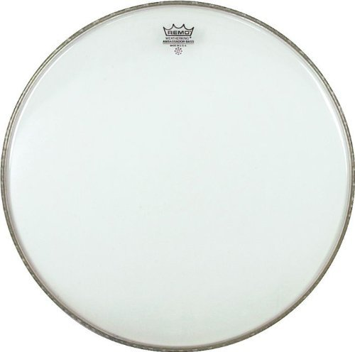 Remo BR132000 Clear アンバサダー 20-インチ Bass Drum Batter Head (海外取寄せ品)