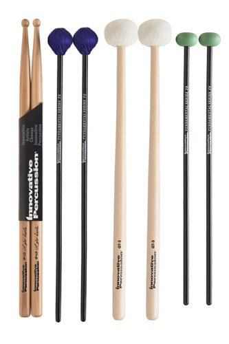 Innovative Percussion FP2 Fundamental Series Intermediate パック with スティック Bag ロック Drumsticks (海外取寄せ品)