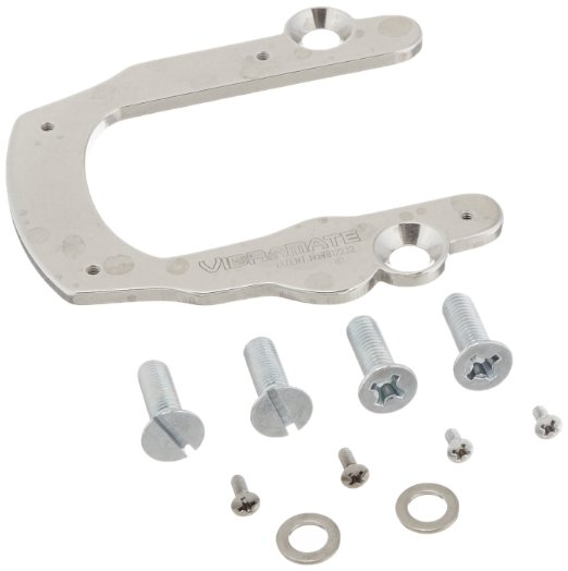 Vibramate V5 クイック Mounting キット for Bigsby B5 Vibrato, クローム (海外取寄せ品)