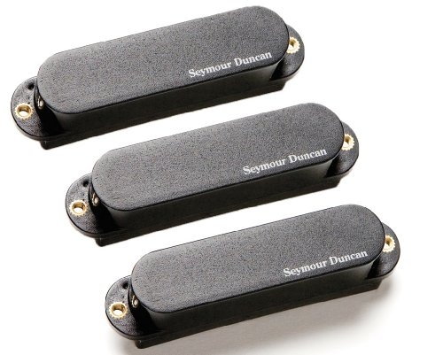 Seymour Duncan Seymour AS-1n of ブラックアウト Singles, セット of 3 Duncan Pickups (Neck/ミッド/Bridge) for Strat, ブラック カバー (海外取寄せ品), 藤店うどん:4f46de2f --- integralved.hu