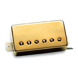 Seymour Duncan SH2N ジャズ Model Humbucker Pickup - (Gold Cover) (海外取寄せ品)