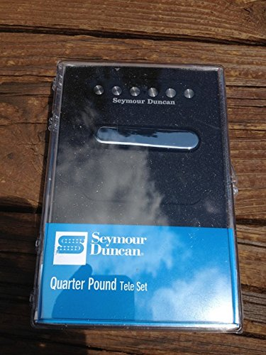 Seymour Duncan Quarter Pound Tele Pickup セット Telecaster ブリッジ & ネック 11208-14 (海外取寄せ品)