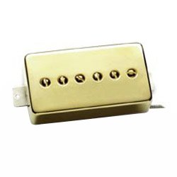 Seymour Duncan SPH90 Phat Cat P90 Electric Guitar Pickup - (Neck Position) (Gold) (海外取寄せ品)
