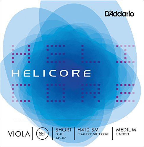 D'Addario Helicore Viola ストリング セット, ショート Scale, Medium Tension (海外取寄せ品)