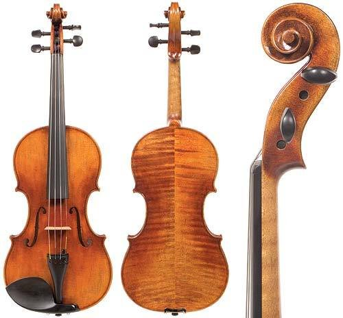 D Z Strad Viola Model 300 With ケース and ボウ-16.25