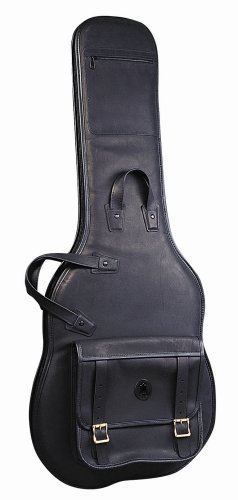 Levy's レザー LM18-BLK レザー Deluxe Electric Guitar Bag, ブラック (海外取寄せ品)