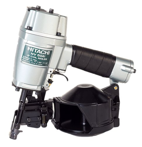 日立 Hitachi NV50A1 1-1/4-インチ to 2-インチ Wire Collated Utility Framing Nailer (海外取寄せ品)
