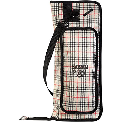 Sabian QS1PD Drumstick Bag, Plaid (海外取寄せ品)