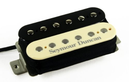 Seymour Duncan SHPG-1n Pearly Gates ネック Pickup, リバース ゼブラ (海外取寄せ品)