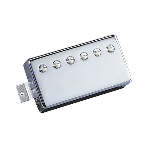 Seymour Duncan TBPG-1b Pearly Gates Trembucker ブリッジ Pickup, Nickel カバー (海外取寄せ品)