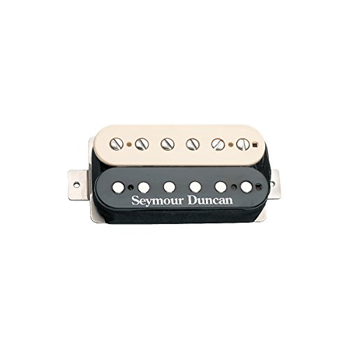 Seymour Duncan 11102-49 SH-PG1b Pearly Gates Humbucker Guitar Pickup ブリッジ ゼブラ (海外取寄せ品)