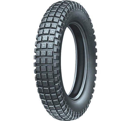 Michelin Trial Light Tire - フロント - 80/100-21 , Tire サイズ: 80/100-21, Rim サイズ: 21, スピード Rating: M, Tire Type: Trials, Tire Application: Intermediate, Load Rating: 51, Tire Construction: Bias, Position: フロント 22827 (海外取寄せ品)