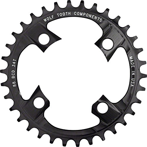 Wolf M985 Tooth コンポーネント 32t 88bcd 32t ドロップ-ストップ Chainring for Shimano Chainring XTR M985 cranks (海外取寄せ品), 大町市:d2fd8378 --- data.gd.no