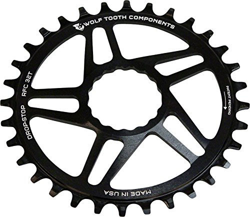 Wolf 34T, Tooth コンポーネント ドロップ-ストップ Chainring: 34T, RaceFace ダイレクト Cranks, Mount for RaceFace Cinch Cranks, ブラック (海外取寄せ品), 大子町:b4fe14a9 --- data.gd.no