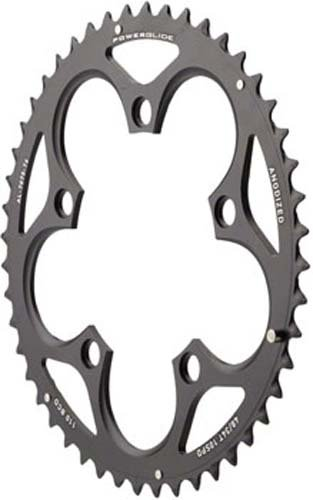 SRAM Force/Rival/Apex 48T 10 スピード 110mm ブラック Chainring for GXP crank (海外取寄せ品)
