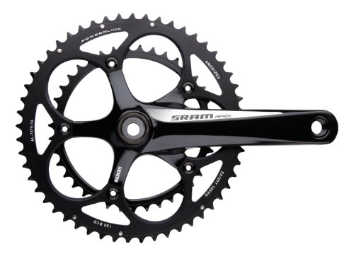 SRAM GXP 170mm 50-34T ホワイト Apex Compact Crankset with BB (海外取寄せ品)