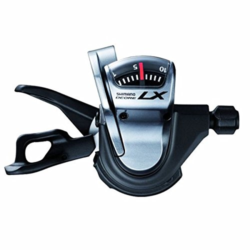 Shimano DLX SL-T670 Shifter - 3 x 10-Speed, シルバー (海外取寄せ品)