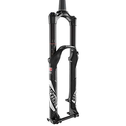 RockShox Pike RCT3 ソロ エアー 130 Suspension Bicycle Fork with ブラック クラウン Adjust Aluminum Steerer Tapered 51 オフセット ディスク, 29