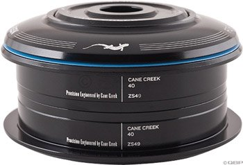 Cane Creek 40-Series ZeroStack Conversion Complete for 49mm Head チューブ 1-1/8