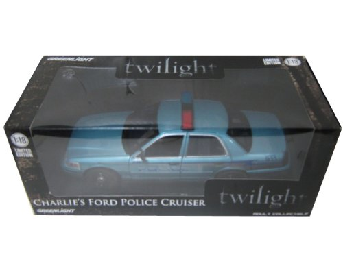 2008 Ford クラウン ビクトリア Twilight Forks, WA Charlie's ポリス Police Car from ムービー