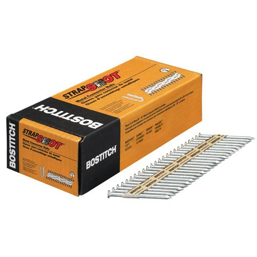 BOSTITCH PT-MC14825G.5M ペーパー テープ Collated メタル Connector ネイル (Pack of 500) (海外取寄せ品)