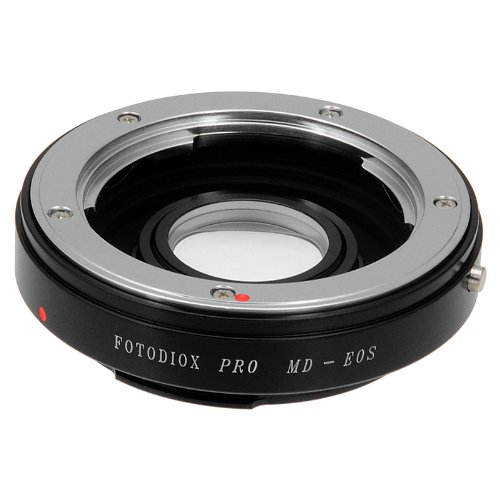 Fotodiox プロ レンズ Mount Adapter, Minolta MD/MC Rokkor レンズ to キャノン Canon EOS EF, EF-S Mount Camera such as EOS 7D, 60D & Rebel T3 (海外取寄せ品)