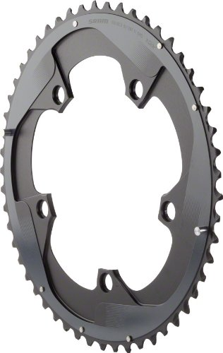 SRAM Force22 53T 130mm Chainring ブラック for Hidden or Non-Hidden Bolt Use with 39T (海外取寄せ品)
