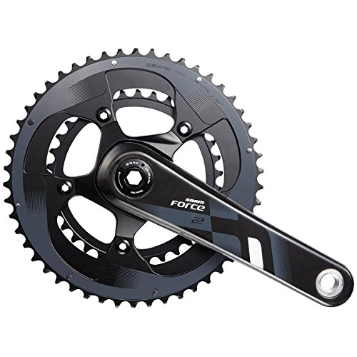 SRAM Force22 BB30 Crankset, 175mm/50-34T (海外取寄せ品)