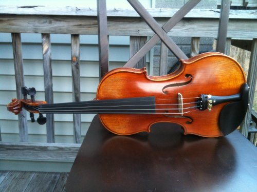 D Z Strad #199 Violin with ケース and ボウ (海外取寄せ品)