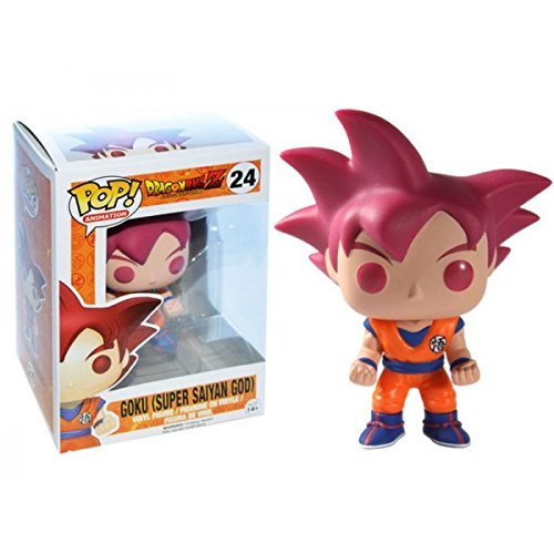 ファンコ POP! Anime: Dragonball Z Super Saiyan God Goku ビニール Figure (海外取寄せ品)