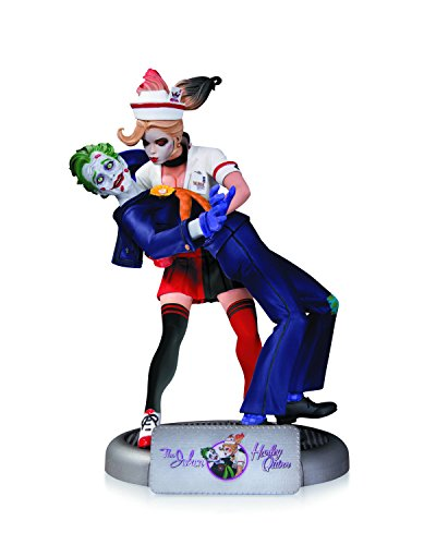 DC Collectibles DC コミック Bombshells: The ジョーカー & Harley Quinn Second Edition Statue (海外取寄せ品)