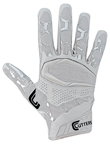 Cutters S541 Rev プロ 3D 2.0 レシーバ, セーフティー, Cornerback Football グローブ with Ultra Sticky C-Tack Grip, アダルト (海外取寄せ品)