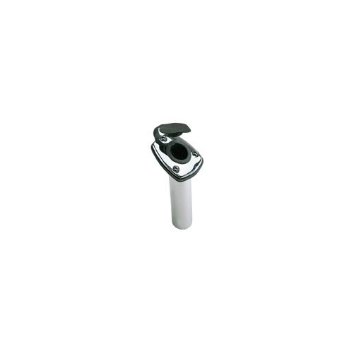 Perko 1205DP0CHR Angled Flush Mount Rod Holder (海外取寄せ品)