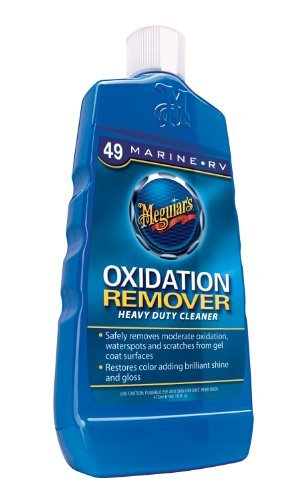 3 X Meguiar's M4916 マリーン/RV Heavy Duty Oxidation Remover - 16 oz. (海外取寄せ品)