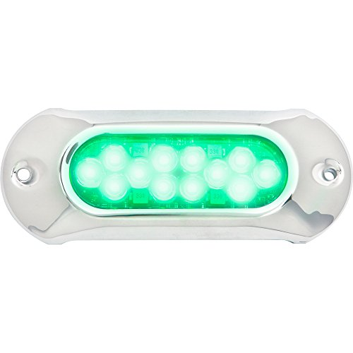 Attwood Light アーマー Underwater LED Light - 12 LEDs - グリーン (海外取寄せ品)