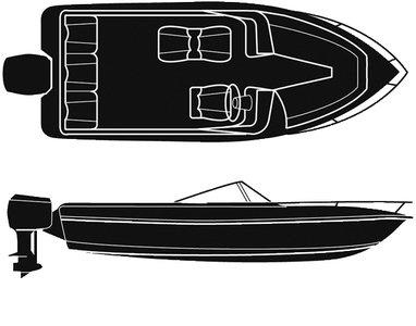 POLYESTER, V-HULL Outboard, 18'-91I (海外取寄せ品)