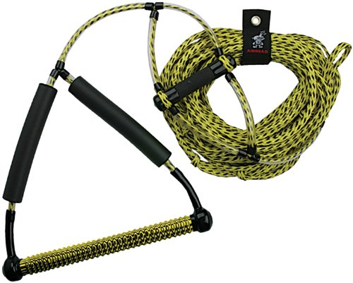 Airhead AHWR-1 Wakeboard Rope with Phat Grip, イエロー (海外取寄せ品)