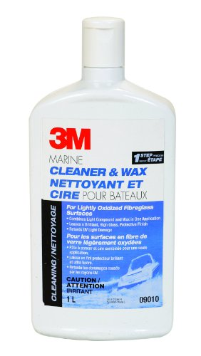 3M マリーン Cleaner and Wax (32-Ounce) (海外取寄せ品)