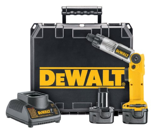 DEWALT DW920K-2 1/4-インチ 7.2-Volt Cordless Two-Position Screwdriver キット 「汎用品」(海外取寄せ品)