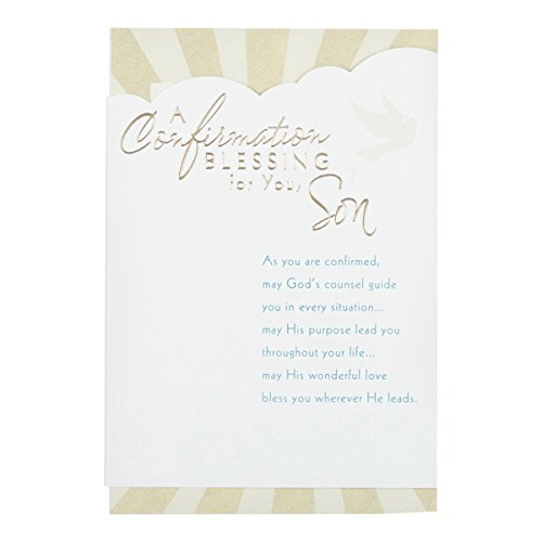 DaySpring Religious Celebrations Greeting Cards - Confirmation, 6 カウント with エンボス Envelopes - Son (80873) 「汎用品」(海外取寄せ品)