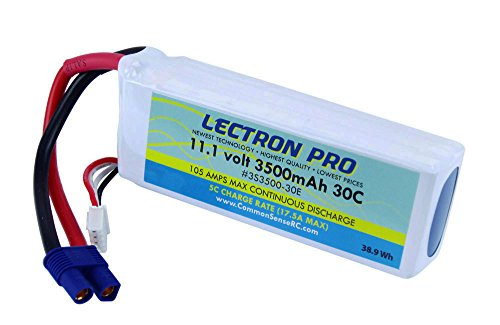 Lectron プロ 11.1V 3500mAh 30C with EC3 Connector 「汎用品」(海外取寄せ品)