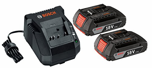 Bosch SKC181-02 18-Volt Lithium-イオン スターター キット with (2) 2.0 Ah Batteries and Charger 「汎用品」(海外取寄せ品)