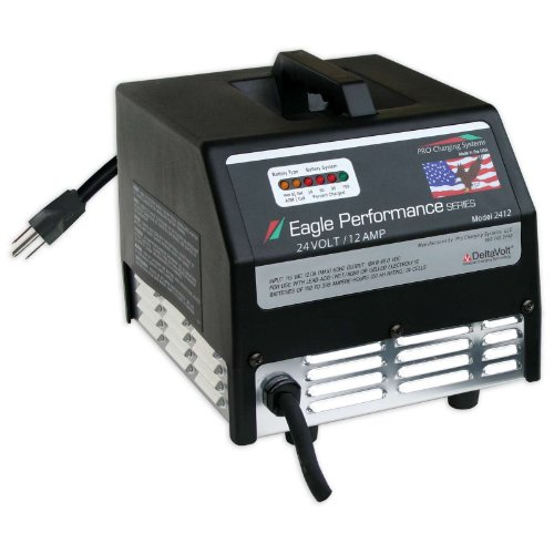 I2412 デュアル プロ Charger for フロアー Scrubber and Sweepers 24V 12Ah 「汎用品」(海外取寄せ品)
