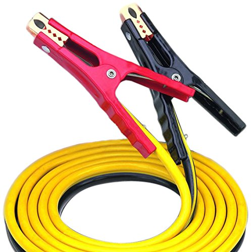 Bayco SL-3003 イエロー 12' 400 Amp Medium-Duty Booster ケーブル with Side/Top Jaw デザイン 「汎用品」(海外取寄せ品)