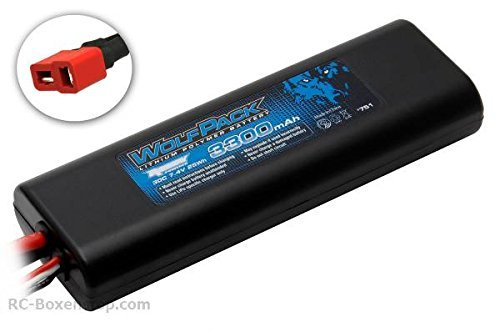 ASSOCIATED 751 WolfPack LiPo 2S 7.4V 3300mAh 30C 「汎用品」(海外取寄せ品)
