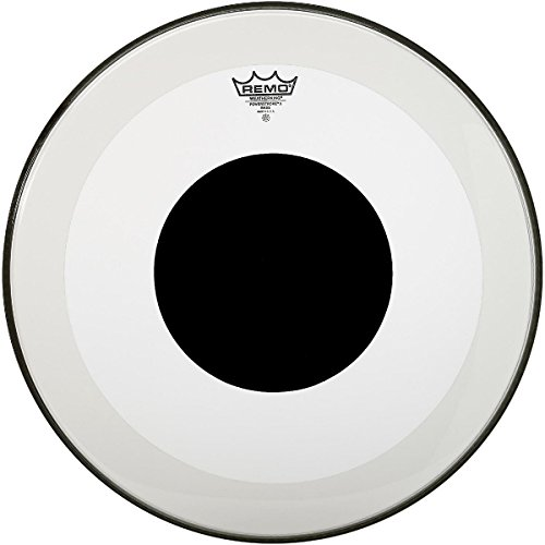 Remo Powerstroke 3 Clear with Bass Drum Bass Head with ブラック ブラック Dot 23 in. (海外取寄せ品), NOEL25:941f3ddb --- integralved.hu