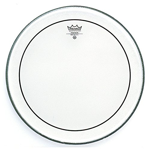 Remo ピンストライプ Clear Bass Drumhead, 18