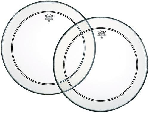 Remo Powerstroke P3 Clear Bass Drumhead, 18