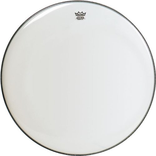 Remo アンバサダー コー??ト Bass Drumhead, 24